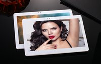 Wholesale Tablet Discount Bluetooth - Wholesale- Valentine's Day discount 10 inch 3G 4G LTE tablet Octa core 1920*1200 HD 4GB 32GB Android 6.0 Bluetooth GPS tablet + Gifts