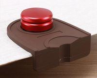 Wholesale Silicon Basket - Espresso Coffee tamper mat Silicon corner mat Espresso Portafilter Tamper Holder Silicone Pad Mat