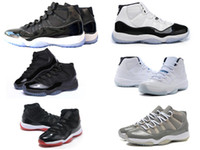 Wholesale good jams - classic 11 space jam 45 back 11s concord bred gamma legend blue lows men women basketball shoes sneakers Good Quality Version