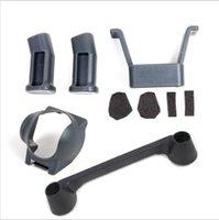 Wholesale Dji Kit - Mavic Pro Accessories Kits, Landing Gear Set + Lens Hood + Remote Controller Joystick Protector Transport Clip for DJI Mavic Pro