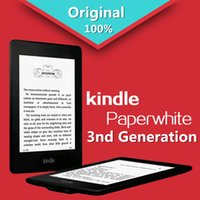 """Wholesale Paperwhite Touch Screen - Wholesale- Kindle Paperwhite 3nd Generation Black 4GB eBook e-ink Screen WIFI 6""""LIGHT Wireless Reader With built-in backlight Free shipping"""