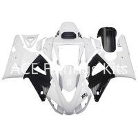 moto yamaha r1 carenado 1998 al por mayor-3 regalos gratuitos Carenados completos para Yamaha YZF 1000-YZF-R1-98-99 YZF-R1-1998-1999 Kit de carenado completo para motocicleta Estilo blanco vv20
