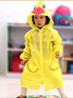 Wholesale Rain Jacket Kids - Arrive Raincoat jacket Princess Free Shipping Kids Rain Coat children Raincoat Rainwear Rainsuit,Kids Waterproof Animal Raincoat WD225