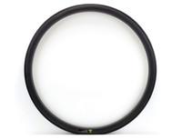 Wholesale Road Bike Wheel Rims - Free shipping 700c 38mm Depth Carbon Single Rim 25mm Width Light Weight Carbon wheels Clincher Road Bike Rim UD matte finish
