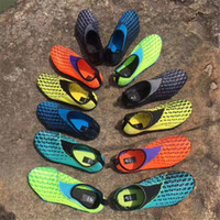Wholesale Cheap Breathable Waterproof Fabric - 2017 New Discount Outdoor Kurobe II Water Shoes Cheap Fashion Men Women Kurobe 2 Solar Yellow Black Mesh Breathable Wading Shoes Size 36-44