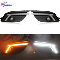 Wholesale Fog Lamp For Mazda - 2017 New OEM Type 12V LED DRL Daytime Running Light Daylight Fog Lamp for Mazda 3 Axela 2017