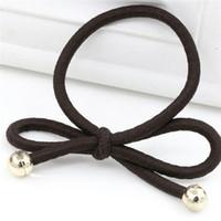 hilo de goma al por mayor-venda del pelo del círculo del pelo de la bobina del hilado multi del color, cuerda de goma