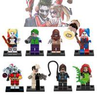 Wholesale Catwoman Action Figures - X0113 Avengers Building Blocks Model Marvel badass villain Suicide Squad Harley Quinn Ivy Catwoman Figures Action Bricks Toys