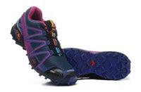 Wholesale Road Shoes Winter - Salo*** Women Speedcross 3 Summer sports Hiking shoes waterproof Outdoor off-road running shoes Speedcross III Sports Sneakers