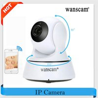 Wholesale Wanscam Wireless Wifi Ip Camera - WANSCAM 720P Wireless IR Camera WiFi H.264 Indoor IP Security IR-Cut Night Version Indoor USB Charger P2P Surveillance Security Camera