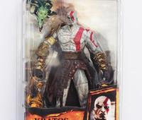 kratos dios guerra figura al por mayor-2017 NECA God of War 2 Figura Kratos infame Dios de la guerra Kratos Dark Odyssey