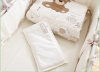 Vendita allingrosso di sconti lenzuola bianche per culla in messa