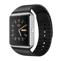 мобильный телефон mtk6572 оптовых-QW08 GT08 плюс андроид мобильный телефон смарт-часы MTK6572 двухъядерный с SIM-карты камеры GPS Wifi WCDMA 3G Google play магазин поддержка whatsapp