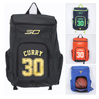Wholesale High Quality New Stephen Curry Gym Backpack Sports Bag Schoolbag Basketball Football Bags Colors