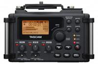 Wholesale Dhl Linear - Wholesale- 2015 Brand Original Tascam DR-60d professional Linear PCM Recorder Mixer DSLR VIDEO SHOOTER For DSLR SLR Camera DHL EMS shipping