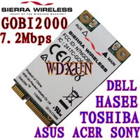Wholesale Mini Pci 3g - Wholesale- Sierra Wireless Gobi2000 3G Mini PCI-E Card WWAN 3G NET 3G CARE