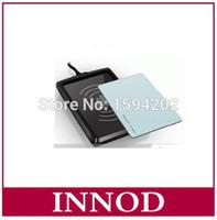 Wholesale Rfid Rs232 - Wholesale- English SDK demo long middle range 1-3meters uhf rfid reader programmable rfid tag writer rs232 usb desktop epc gen2 rfid reader