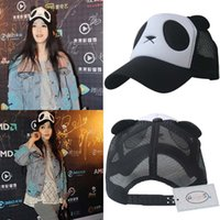 Wholesale Hats Panda Korean - Cute panda baseball cap, sun visor, sun hat, fashion Korean version