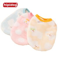 Wholesale Wholesaler Teddy Jacket - Hipidog Small Dog Vest Spring Pet Clothes T-shirt Soft Dogs Clothes Summer Teddy Cotton Shirt Jersey Puppy Clothing Pet Apparel