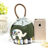 Wholesale Cylindrical Ring - Wholesale- Fashion Women Coin Purses Cute Girl Animal Mini Bag Key Ring Case Wallet Lovely elephant Cat Face Pouch Change Purse wholesale