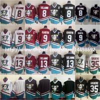 8556e3083 Cheap Ice Hockey Mighty Ducks Jersey Best Men Full Teemu Selanne Jersey