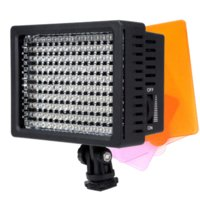 FW1S 160-LED Video Light Studio Cámara Fotos Video DV Videocámara Hot Shoe Light para Nikon Canon