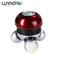 Wholesale Wireless Vibration For Women - LUYAO Mini Electric head neck face massager Wireless Scalp massager Prevent hair loss Sex vibration body massager for women