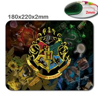 Wholesale Quick Mouse - Hot Selling Movie Harry Potter Design Quick Printing Mouse Mat Custom High Quality Non-Skid Durable Mouse Pad