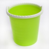 Wholesale sell like hot cakes multicolor without cover plastic trash bin bedroom kitchen living room bathroom trash bin