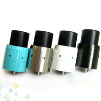 Wholesale velocity rda - 2015 Mini Velocity RDA Rebuildable Dripper Atomizer Clone with Wide Bore Drip Tips Air Holes Adjustable Airflow Fit Mods DHL Free