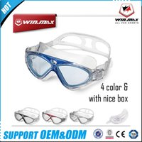 Wholesale Swimming Pools Wholesalers - 2017 AAA Winmax Swimming Goggles Newest Professional Anti Fog and Anti UV Adult Swim Pool Water Eyeglasses 100% UV Protection Diving Masks