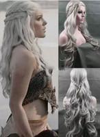 Wholesale Dragon Wig - Daenerys Targaryen Dragon Princess Game of Thrones Braids Costume Cosplay Wig