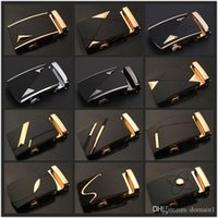 Wholesale Luxury Brand Designer Men Belt Buckle Male Kemer Metal Automatic Buckle Heads High Quality Gold Horses Buckles