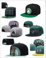 Wholesale Boston Snapback Hats - Cheap 2017 newest wholesale Boston Adjustable Celtics Snapback Hat Thousands Snap Back Hats For Men Basketball Cheap Baseball Cap men women