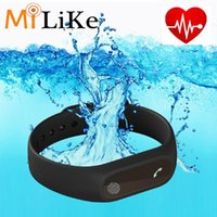 Wholesale Activity Pads - Touch pad Waterproof M2 Band Heartrate Monitor Bluetooth 4.0 Wristband Pedometer Fitness Activity Tracker Smart Bracelet For Android IOS