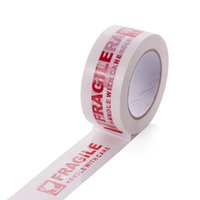 Single-Sided packing tape custom - Hot Sale Cheapest Custom Warning Bopp Fragile Tape Used For Warning And Packing