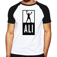 Wholesale Wholesale Good Quality Mens Clothing - Wholesale- Summer Mens MUHAMMAD ALI T Shirts Men Fitness Casual shirt MMA Short Sleeve T shirt good quality clothing