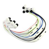 Wholesale Best Mp3 Player Headphones - Wholesale- Newest Best Price!! New Sport Wireless Earphones Headphones Music MP3 Player TF Card FM Radio Headset Free Shipping NOM03