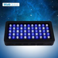 Wholesale Led Moonlight Aquarium - Dimmable led aquarium light 165W for greenhouse moonlight design led lighting Aquarium Lamp marine aquarium fish tank with free shipping DHL