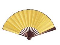 "Wholesale Favor Art - 10"" 8"" Plain White Folding Fan DIY Wedding Programs Fine Art Painting Chinese Silk Hand Held Fans Crafts Gift Male Ethnic Dance Props"