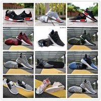 Wholesale Skull Knee Boots - 2017 NMD XR1 x Mastermind Japan Skull Men's Casual Running Shoes for Original quality Black Red White Boost Fashion Sneakers EUR 36-45