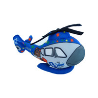 Wholesale Unique Airplane - Wholesale-cartoon Helicopter toys for kids boys lifelike high quality airplane doll 20CM blue cartoon printed boys toy unique gifts cute