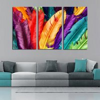 Wholesale Modern Paintings Framed - Framed 3 Panel Modern Abstract Canvas Oil Painting Set 100% Handpainted Home Living Room Decor Pictures Wall Art AM198
