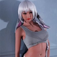 Wholesale Sex Doll Silicone Small - 100% TPe solid sexy doll with metal skeleton real solid silicone sex dolls adult love dolls Not inflatable sex dolls for men