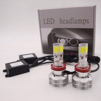 Wholesale H4 Conversion Headlights - CREE LED Conversion Kit 180W 18000LM All in One 4 sides LED Bulb Headlight White Light Lamp H4 H7 H11 9005 9006 9007