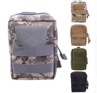 Wholesale Side Bags Men - 2017 hot Molle Pouch Waist Bag Military Hunting Waist Fanny Phone Bag Men Waterproof Multifunction Bag with Side-release buckle