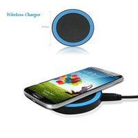 Wholesale Cellphone Q5 - Universal Q5 Charger Qi Wireless Power Charging Charger For Iphone Samsung Huawei Qi-abled Device Cellphone With Retail Package