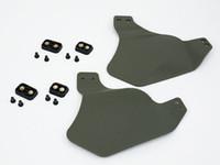accesorios de casco rapido al por mayor-Tactical UP-ARMOR FAST HELMET RAIL 2 CARCASA lateral Ear Protect Accesorio para casco Accesorios 3 colores
