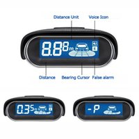 Car Display LED 4 x Sensors Kit Invertir Aparcamiento Radar Buzzer Sistema con 250cm Detectando Distancia CAL_220