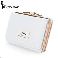 Wholesale Design Brand Wallet Purse - Brand new arrival fashion women wallet small wallets short design simple cute coin purse three fold multi-function Purse